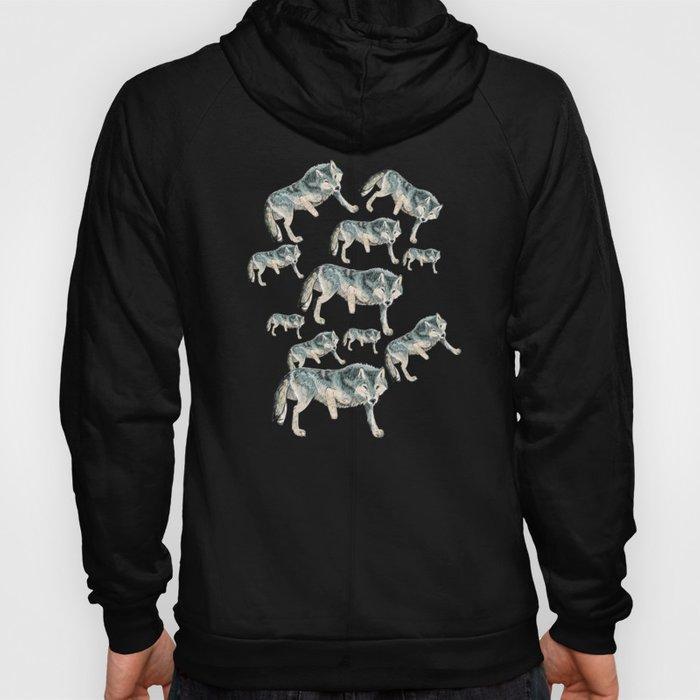 Totem Polar wolf Hoody
