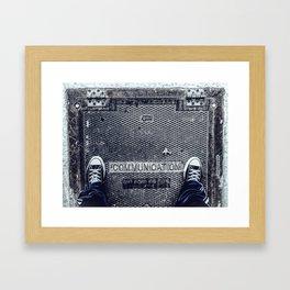 Lack of Framed Art Print