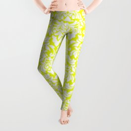 Lemon Fancy Leggings