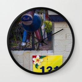 Metal Goat Letterbox Wall Clock