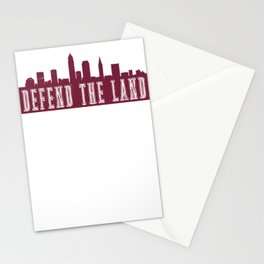 Cleveland Defend the Land Sports 2018 Stationery Cards