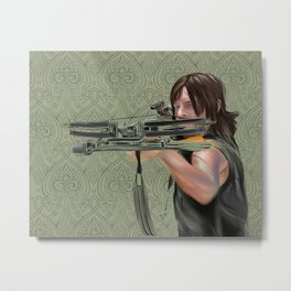 Daryl Dixon from The Walking Dead Metal Print