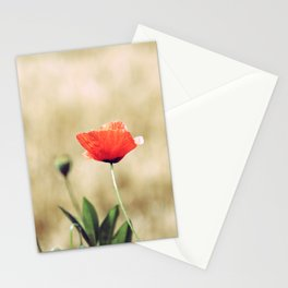 Vintage Summer - Poppy Stationery Cards