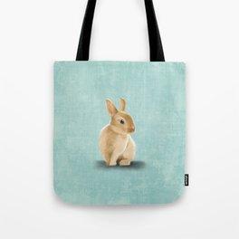 Portrait of a little bunny Tote Bag