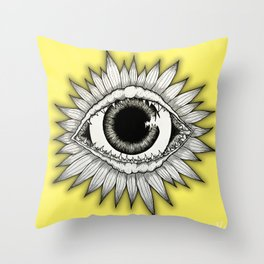 Eye Solemnly swear that I'm up to no good Throw Pillow