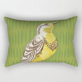 Western Meadowlark Rectangular Pillow