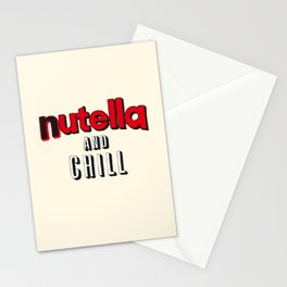 Nutella and Chill Stationery Cards