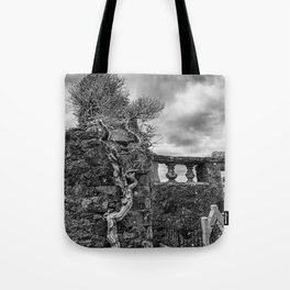 Old Tree in Cill Chriosd Churchyard Tote Bag