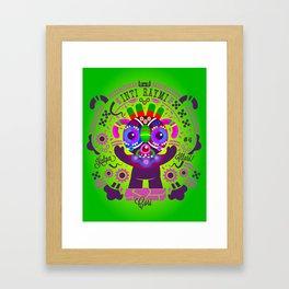 Cori - Patroncitos Framed Art Print
