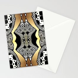 Gold and Black Stationery Cards