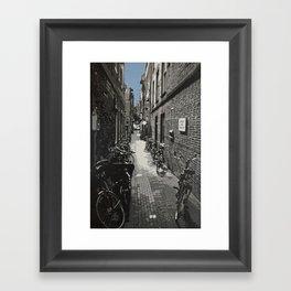Now & Then - #1 Framed Art Print