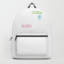Overcome Hatred Through Kindness | Gautama Buddha Backpack