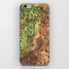 The Holly and the Oak King iPhone & iPod Skin