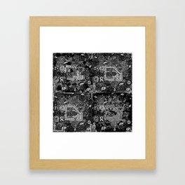 AILLLEURS Framed Art Print