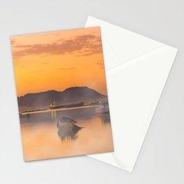 Golden Sunrise Stationery Cards