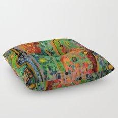 Interconnectedness Floor Pillow