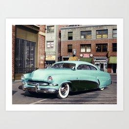 Hirohata Mercury Colorized Photo Art Print