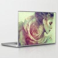 kpop Laptop & iPad Skins featuring June by Anna Dittmann