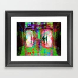 """a component of the built environment as ancient as human habitation"" Framed Art Print"