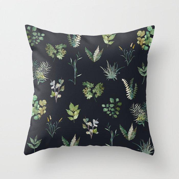 Nature at Night Throw Pillow