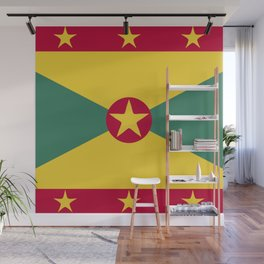 Greenada flag emblem Wall Mural