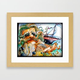 Old Man & The Sea  Framed Art Print