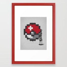 My Favorite Ball Framed Art Print