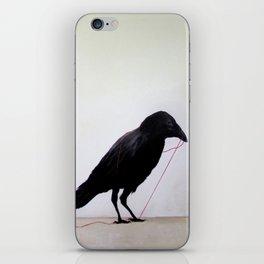 Black Raven iPhone Skin