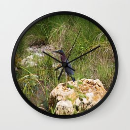 When the Wind Whistles Wall Clock