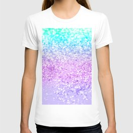 Unicorn Girls Glitter #9 #shiny #decor #art #society6 T-shirt