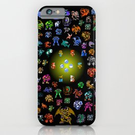 Final Fantasy I Fiends and Monsters iPhone Case