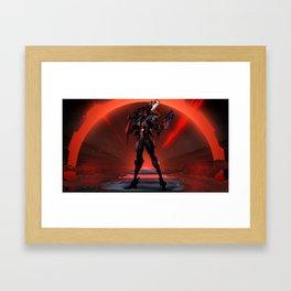 PROJECT Jhin Promo League of Legends Framed Art Print