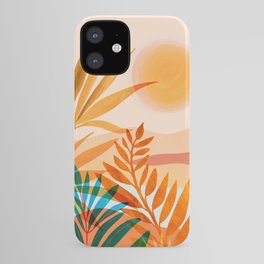 Golden Greek Garden / Sunset Landscape iPhone Case