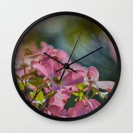 Dogwood Afternoon Wall Clock