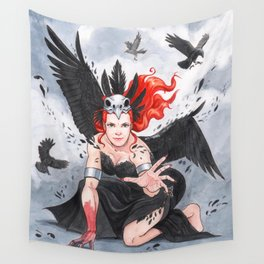 Transformation of The Morrigan Wall Tapestry