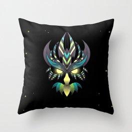 Aztec Owl Throw Pillow