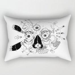 black coffee Rectangular Pillow