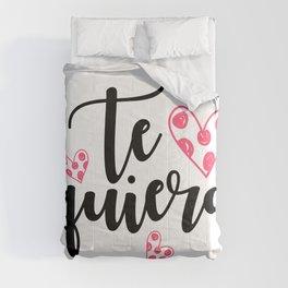 Te quiero Comforters