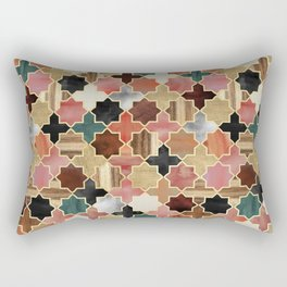 Twilight Moroccan Rectangular Pillow