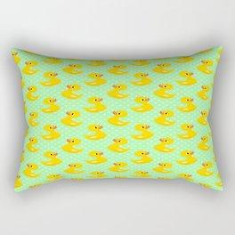 Rubber Ducky's Rectangular Pillow