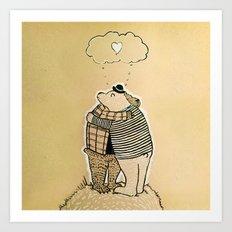 Loving Embrace Art Print