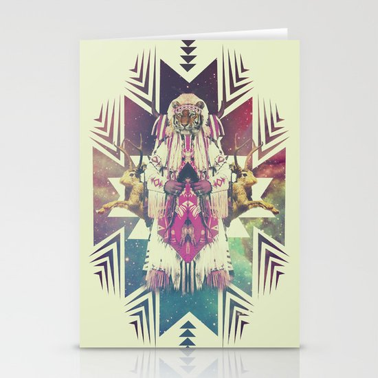 Tiger Chaman  Stationery Cards