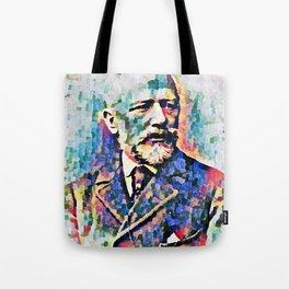 Pyotr Ilyich Tchaikovsky (1840-1893) Tote Bag