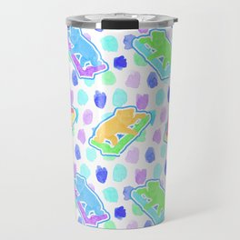 Beautiful Australian Native Animal Print - Cute Koalas Travel Mug