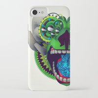 mythology iPhone & iPod Cases featuring Artificial Mythology by Diligence