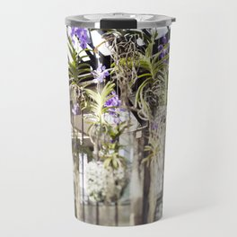 Orchids in the Air  //  The Botanical Series Travel Mug
