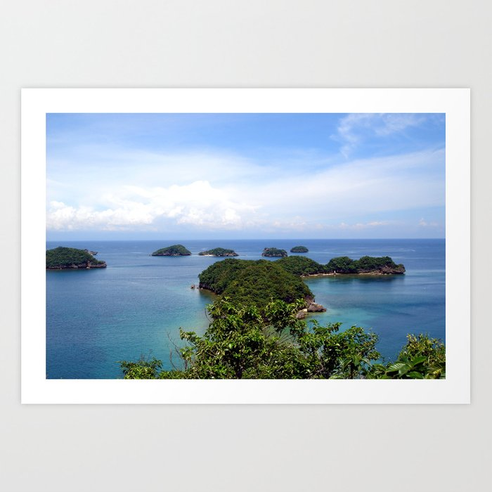 Hundred Islands, Philippines 02 Art Print