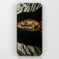 evil dead iPhone & iPod Skins featuring Evil Dead by Lydia Dick