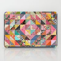 fabric iPad Cases featuring Grandma's Quilt by Rachel Caldwell