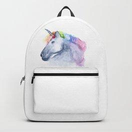 Watercolor Unicorn Backpack